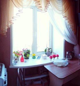 Шторы в кухню и гардина