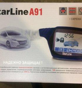 Продам сигнализацию StarLine A91