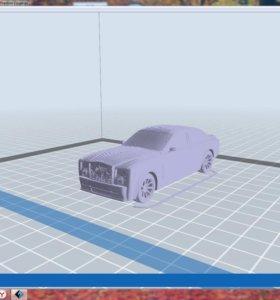 Делаю модели для 3D печати