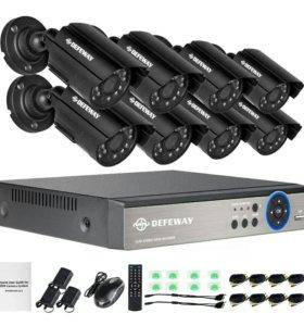 Система наблюдения 8-канальная