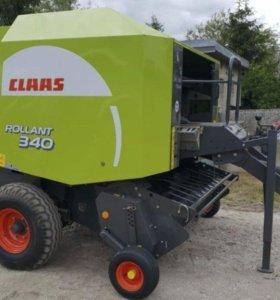 Пресс подборщик Claas 340