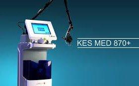 Фракционный лазер KES MED 870+ ,для омоложения