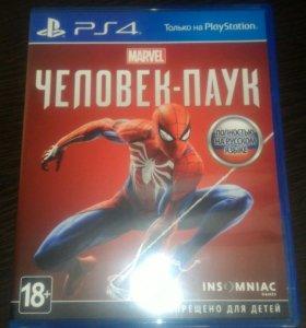 Игра на ps4 Spider man