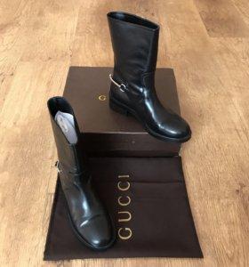 Ботинки кожаные «Gucci»