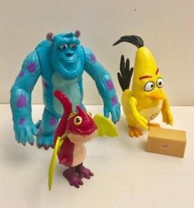 Набор игрушек Энгри Бертс и Корпорация монстров