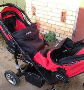 Коляска для двойни (погодок) Baby Active Twinny