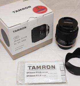 Tamron SP AF 35mm f/1.8 Di VC USD (F012)