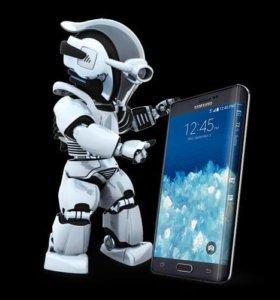 Ремонт телефонов, планшетов и ноутбуков.