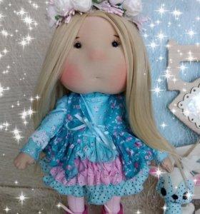Текстильная игрова кукла