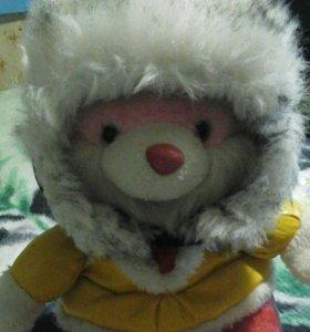 Шапочка зимняя.