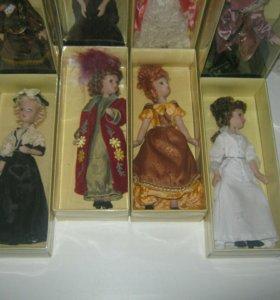 "Продаётся коллекция кукол""Дамы эпохи"""