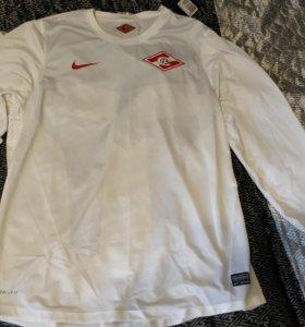 Тренировочная футболка Спартак белая