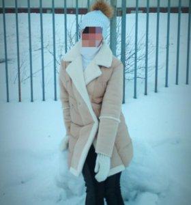 Куртка - дубленка - пальто