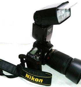 Nikon D90 + объективы Nikkor 18-55 и Nikkor 55-200