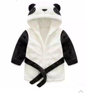 Халат детский Панда