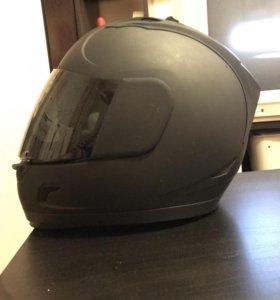 Мотошлем icon dark helmet