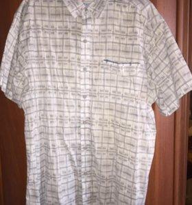 Рубашка, лето, Columbia, 100% хлопок