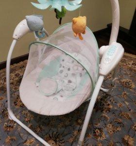 Качели детские для новорожденных электронные