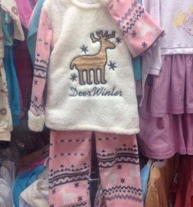 Пижама утеплённая