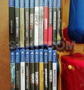 Диски на ПС4.PS4