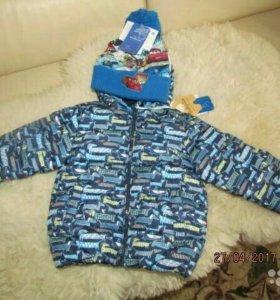 Новая куртка Baby goy 86..Зима