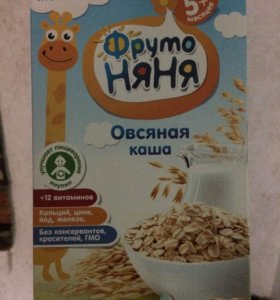 Каша ФрутоНяня молочная