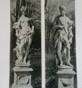Набор открыток Летний сад. 1969г