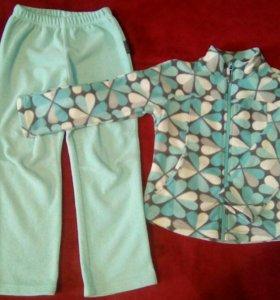 Костюм (штаны+кофта) флисовый
