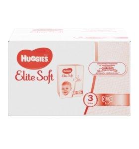 Подгузники, трусики Huggies Elite Soft