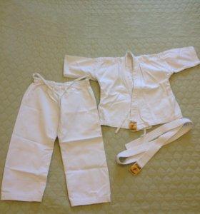 Кимоно для дзюдо Рэй спорт 110 размера