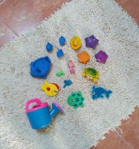 16 игрушек для ванной