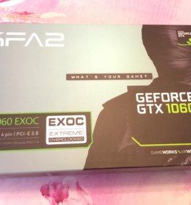 Видеокарта Geforce GTX 1060 6Gb видеопамяти, гар.
