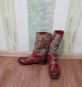 Осени и ботинки