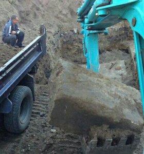 Услуги мини экскаватора