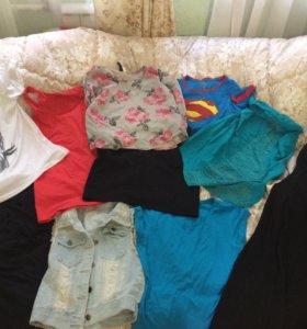 Продам вещи, футболка,майка,юбка,платье,кофта
