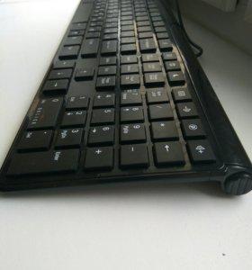 Тонкая эргономичная клавиатура