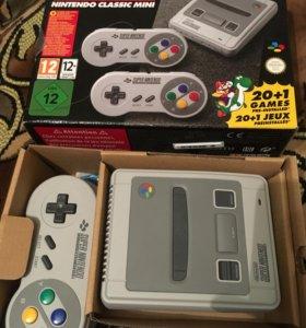 Super Nintendo classic mini 235 игр