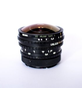 Объектив Canon fisheye peleng 8mm