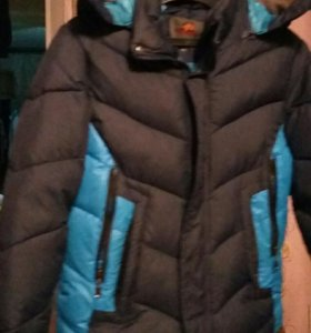 куртка-пуховик подростковая