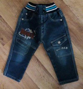 джинсы утепленые