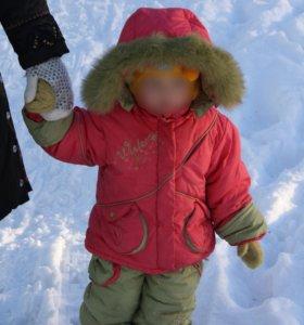 Детский зимний костюм с подстежкой