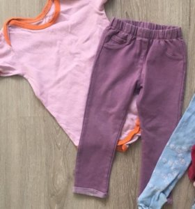 Боди и штаны на 1-2 года