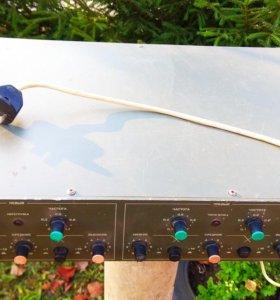 Кроссовер Электроника К-04 двухканальный стерео.