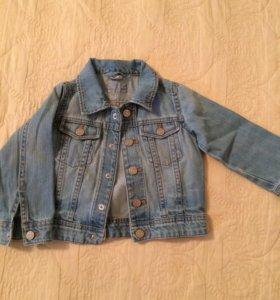 Куртка джинс hm