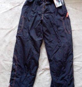 штаны зимние на флисе, синтепоне