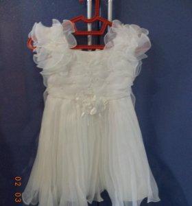 Нарядное платье рост 96 см
