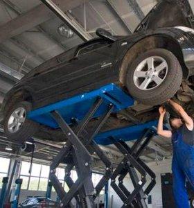Ремонт двигателя, ремонт подвески, замена грм
