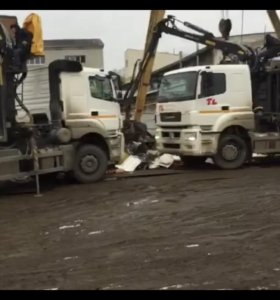Вывоз и приём металлолома металловозами