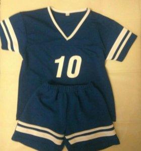 Спортивный костюм для футбола, рост 116.