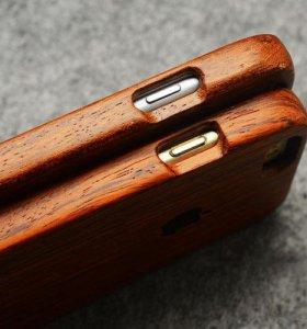 Элитный чехол из дерева для iPhone